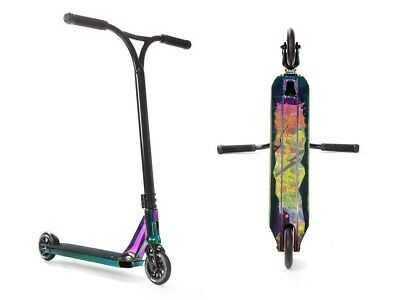Lucky Drc 2017 Covenant Complete Scooter | Neochrome | W/ Free Scooter Stand