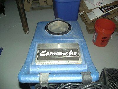 Commanche Commercial Carpet Cleaning Machine W/Floor and Upholstery Wands, Hoses