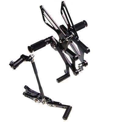 06-12 Footrests Rearsets Footpegs For Triumph Daytona 675 Street Triple 09 10 11
