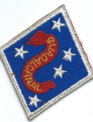 WWII Marine Corps 1st Type 2nd Marine Division Patch