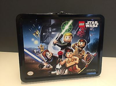 LEGO Star Wars Metal Lunch Box RARE Nintendo DS Promotional Item