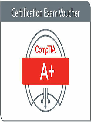 CompTIA A+ Exam voucher 220-901 - 220-902 US/CANADA