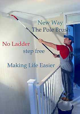 """Extension  Pole Paint Brush 2 1/2"""" inches"""