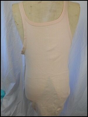 AS NEW! Vintage 90s Light Brown Cotton Summer Target Tank Top Singlet 100cm