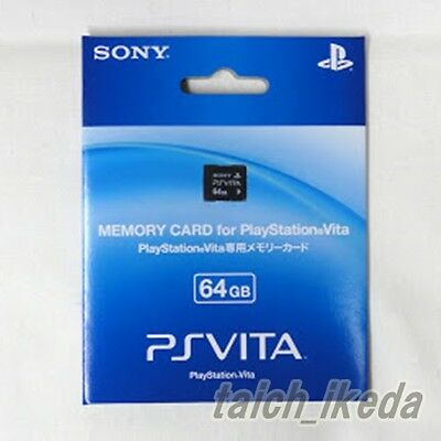Sony Official Brand New PS VITA Memory Card 64GB Japan Model PSV PCH-Z641J