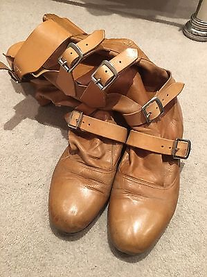 vivienne westwood Pirate Boots. Tan Leather Size UK 7