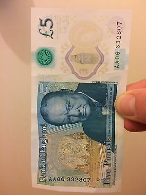 aa06 five pound note