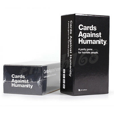 Cards Against Humanity: UK Edition - Xmas Party Game BRAND NEW Free Postage