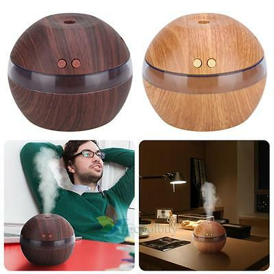 LED Essential Oil Aroma Diffuser Ultrasonic Air Humidifier Aromatherapy Purifier