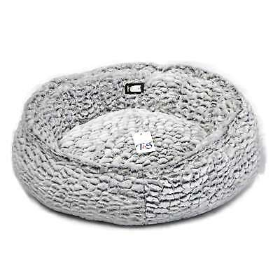 T&S Pet Products Snug Bed Cloud Small Fluffy Eskimo Soft Dog Bed Fluffy TS