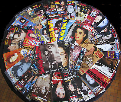 Série Complete Magazine Black&white Michael Jackson 32 N° Collector French Book