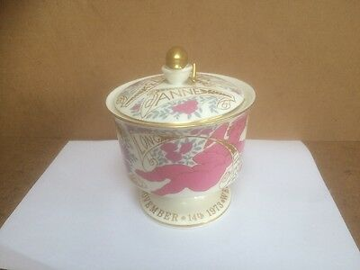 Princess Anne Wedding Coalport Royal Wedding Bononniere 1973 A/F