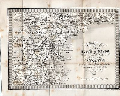 Map of the South of Devon