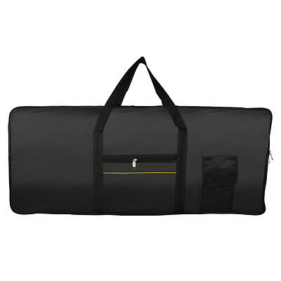 Pro 61-Key Keyboard Electric Piano Padded Case Gig Bag Oxford Cloth Accessories