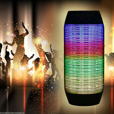 Pulse Bluetooth Wireless Portable Speaker iPhone iPod iPad Samsung LED Dancing