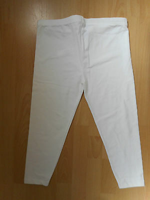 'new Look' White Cropped Maternity Leggings, Size 10, New.