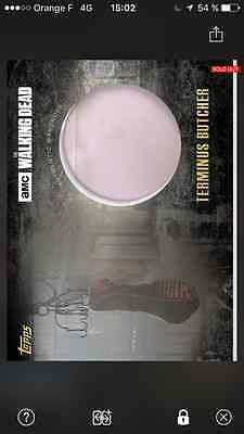 Topps the walking dead Relic Terminus grey