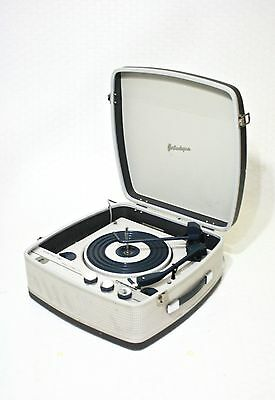 Fully Serviced 1960's 'portadyne' Vintage Record Player