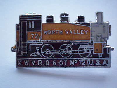 K.W.V.R. No. 72 ENAMEL RAILWAY BADGE