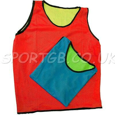 Reversable Bib - Diamond Changable Colour Bibs Rrp £5 - Football Top Quality