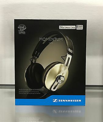 Sennheiser MOMENTUM 2.0 OVER EAR IVORY iPhone -  Ex Demo. Garanzia 24 mesi.
