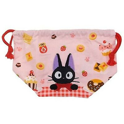 NEW Drawstring Storage Bag Ghibli Kiki's Delivery Service Lunch Pouch Cute Ge
