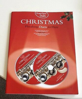 Guest Spot: Christmas Playalong Duets For Flute. Sheet Music, 1 CD included