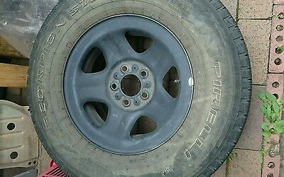 xj jeep 15 inch rims 5x114.3 with 235 75 r15 tyres