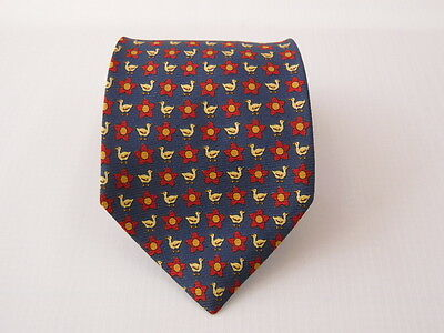 100% Pura Seta Silk Tie Seta Cravatta Made In Italy  A6740