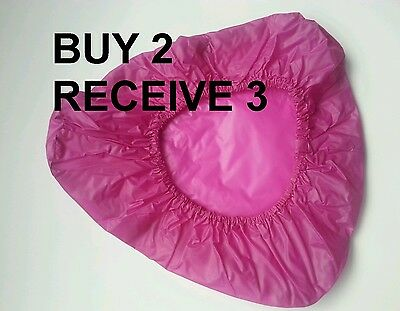 HOT PINK PURPLE WATERPROOF BIKE CYCLE SEAT SADDLE  COVER Adult Children Bicycle