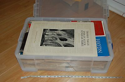Organ and choral  vocal score music collection vast