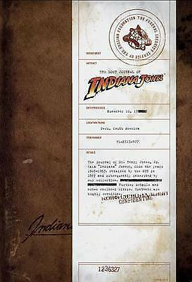 The Lost Journal of Indiana Jones by Henry Jones (Leather / fine binding, 2008)