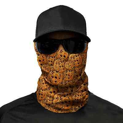 Cookies Face Shield- Bandana Neck Scarf Headwear UV protection Fishing