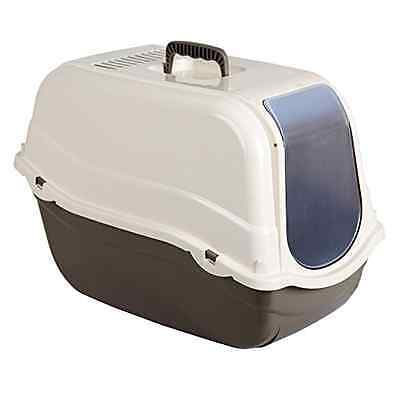 Kerbl Litter Box Minka 57 x 39 x 41 cm Taupe/ Cream - SAME DAY DISPATCH