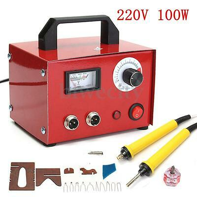 220V 100W Multifunction Pyrography Machine Gourd Wood Pyrography Tool For Crafts