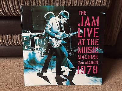 The Jam - Live At The Music Machine Lp - Paul Weller