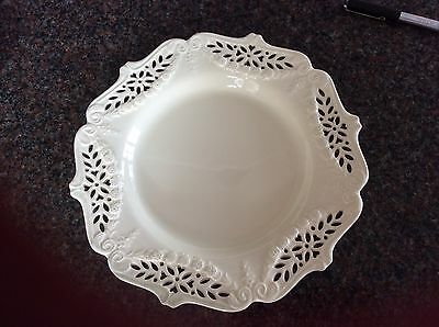 Royal creamware plate with decorative swags