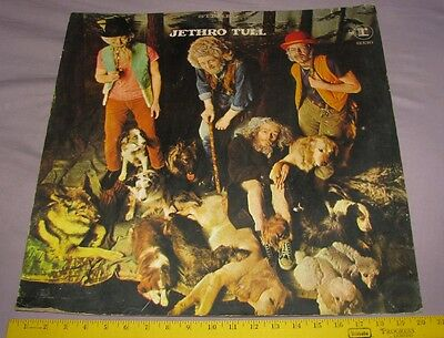 1968 Rare Record Store Promo Standee Jethro Tull This Was 6336 Lp Cardboard Sign