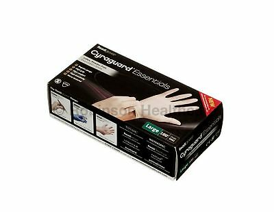 Cyraguard Essentials Latex Gloves - Large - Pack of 100