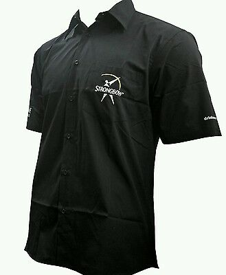 Strongbow Men's Black Darts Shirt in Large