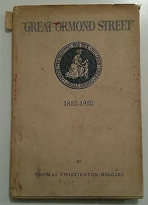 Vintage Medical Book.great Ormond Street Hospital 1852-1952.illustrated.64 Pages