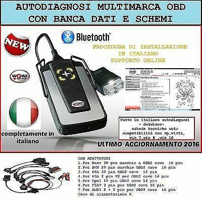 Autodiagnosi Universale Multimarca W.0.w 2016 Auto Diagnosi Obd
