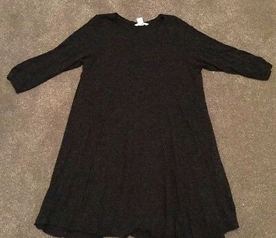 h&m Casual maternity dress size M Charcoal