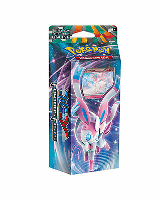 Pokemon Xy Furious Fists - Enchanted Echo (Sylveon) Theme Deck Of 60 Cards