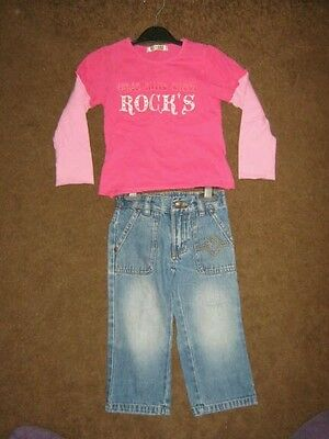 Girls 2 peice outfit age 3-4 years