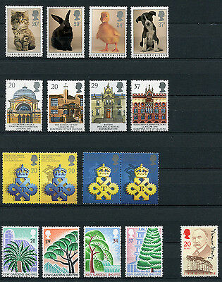 Great Britain 1990 35x Commemorative Stamps Set Mint Never Hinged - FREE UK POST