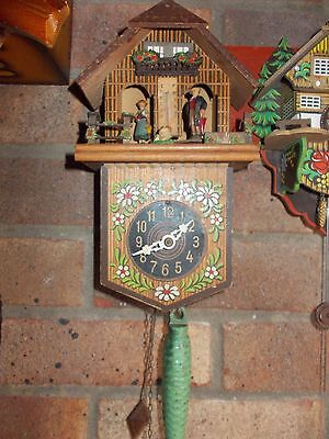 Weather Station and Black Forest Cuckoo Style Clock