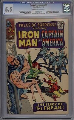 Tales Of Suspense #75 - CGC Graded 5.5 - 1st Agent 13 (Sharon Carter)
