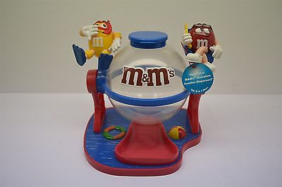 M&M's World Make a Splash Pool Candy Dispenser with tags