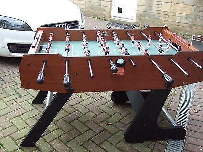 Large Freestanding and Folding Football table